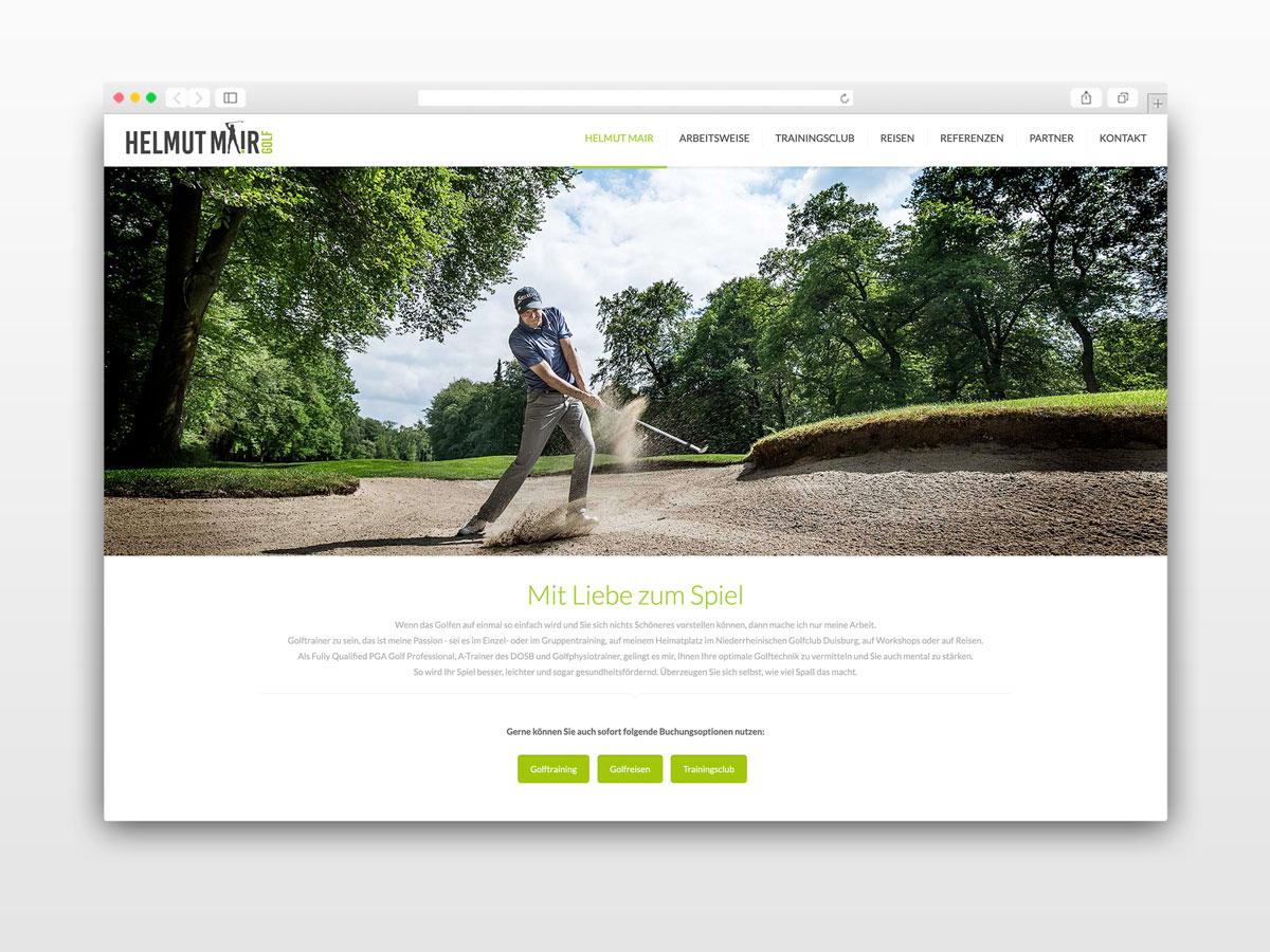 Website-Referenz-Golf