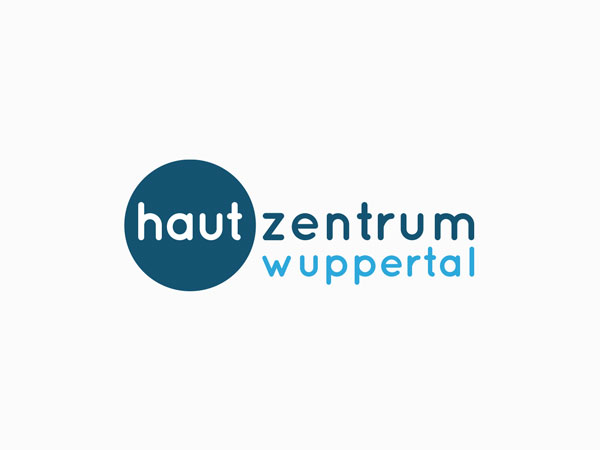 Logodesign-Arzt-Hautarzt-Hautzentrum-Wuppertal