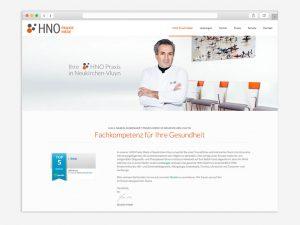 Webdesign-Beispiel-Aerzte-website-HNO-Mede