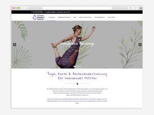 Webdesign-Beispiel-Hebamme