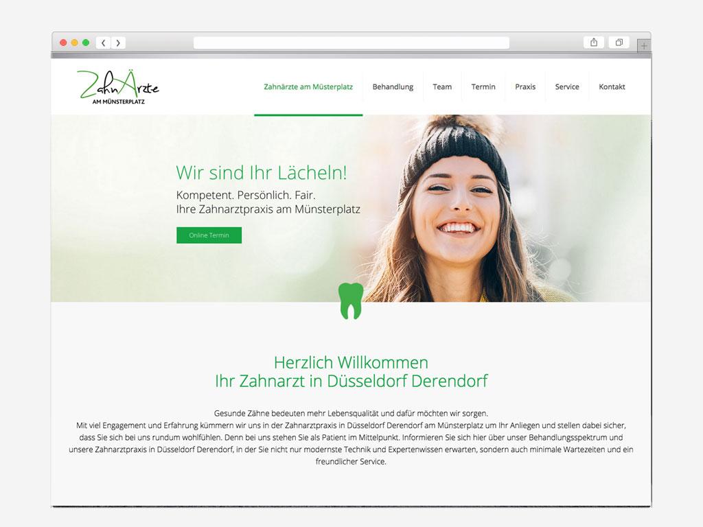 Webdesign-Beispiel-Aerzte-Zahnarzt-webseite