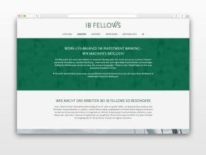 Webseite-Referenz-Investment