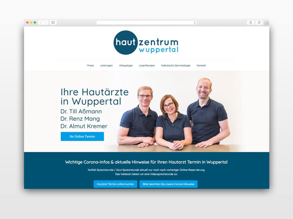 Webseite-Beispiel-Hautarzt