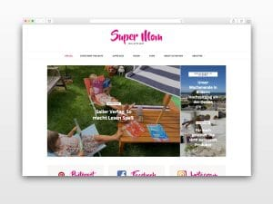 Blog Beispiel Super Mom
