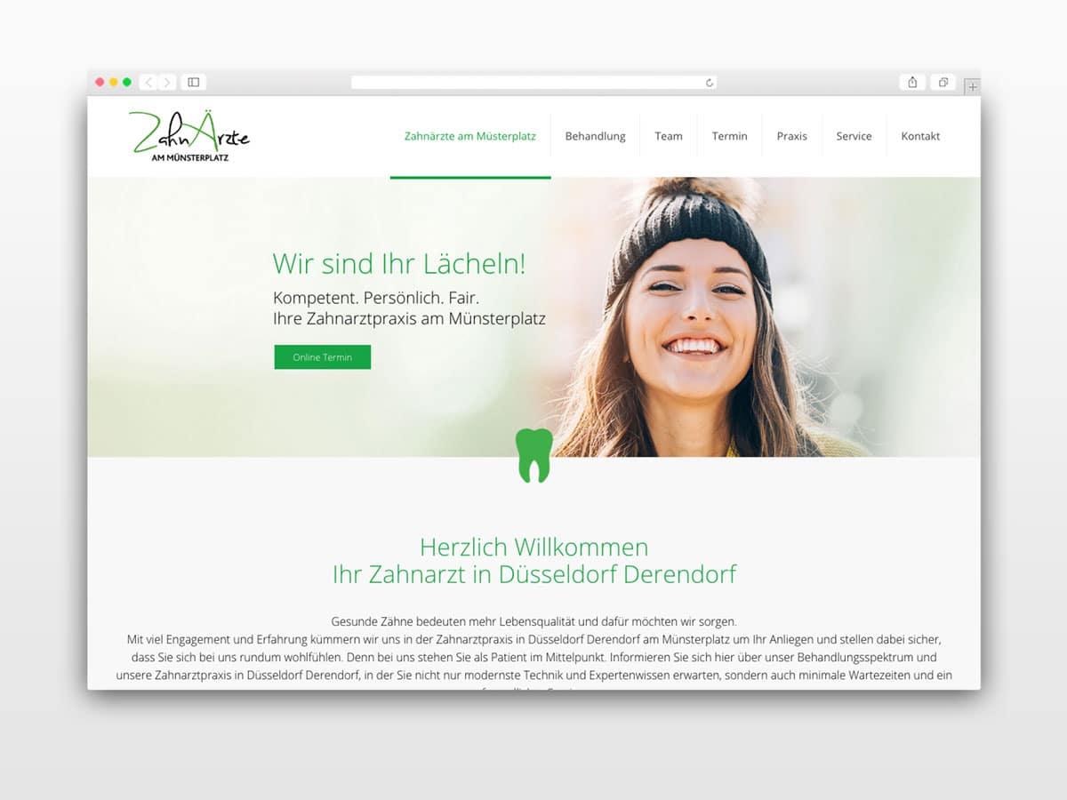 Webseite-Praxismarketing-Zahnarzt